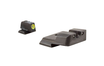 Trijicon SA137Y: S&W M&P HD Night Sight Set - Yellow