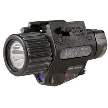 Insight M6X LED Tactical Laser Illuminator / Weapon Light
