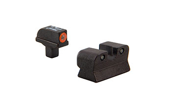 Trijicon  CA101O 1911 Colt Cut HD Night Sight Set – Orange Front