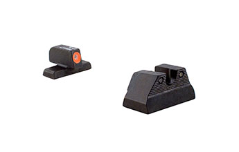 Trijicon  HK106O: H&K USP HD Night Sight Set - Orange Front